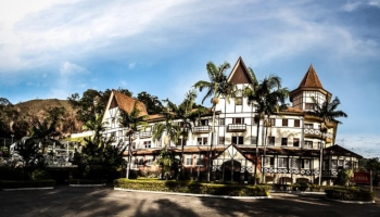 grande hotel gloria aguas de lindois interior de sp